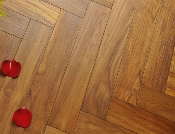 Sàn gỗ Teak Myanmar 15 x 90 x 450mm