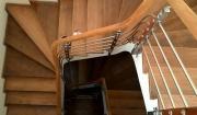 thi công lắp đặt mặt bậc cầu thang gỗ công nghiệp