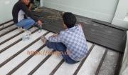 sàn gỗ nhựa sân thượng