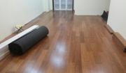 Công trình lắp sàn tre Maxwood