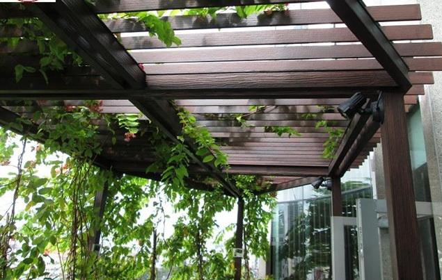 Giàn hoa ngoài trời có độ bền cao, giúp tiết kiệm chi phí bảo trì, bảo dưỡng và thay thế
