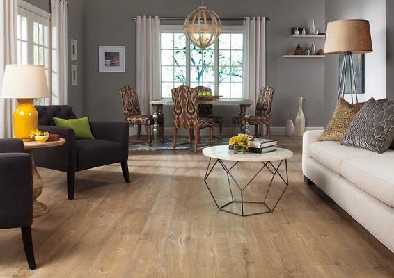 gỗ lát sàn flortex