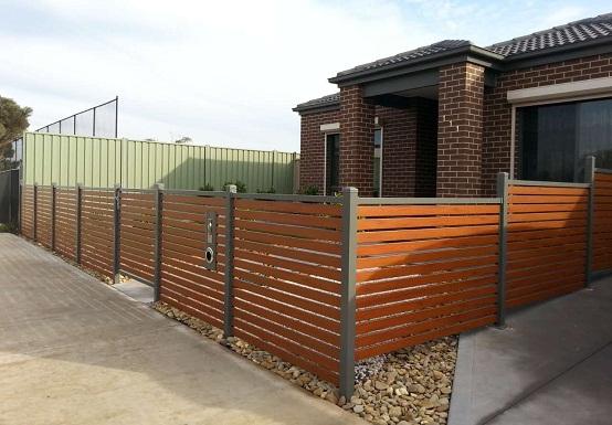 hàng rào gỗ nhựa composite