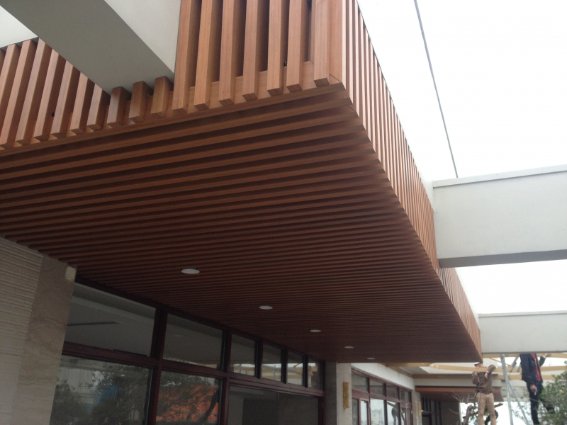 ốp gỗ ngoại thất