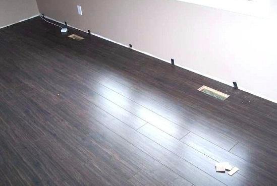 lắp đặt hoàn thiện sàn gỗ công nghiệp