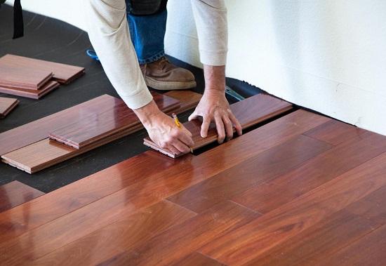 lắp đặt sàn gỗ tự nhiên