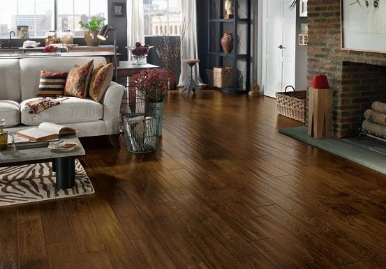 sàn gỗ tự nhiên có tính thẩm mỹ cao